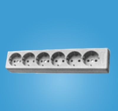 Continental European Socket Strip
